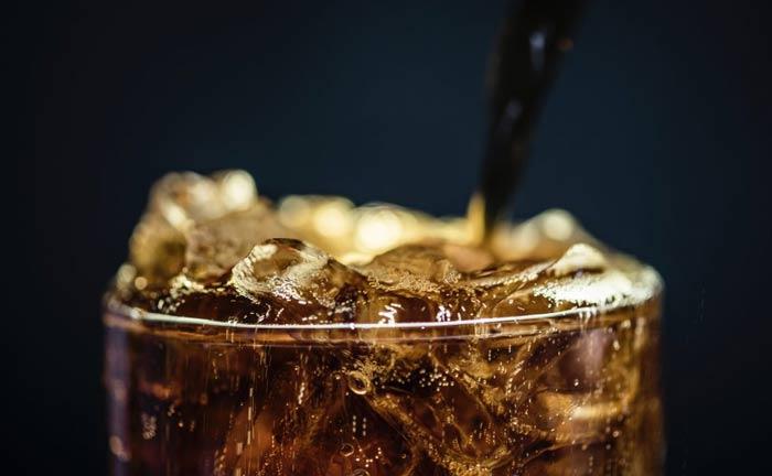 niezdrowy napój na diecie